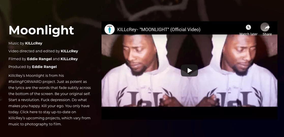 KillcRey music video Moonlight