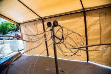 Ursula, metal sculpture by Kelly Schott